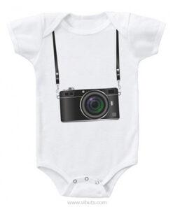 Pañalera bebe cámara fotográfica