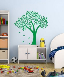 Vinil decorativo árbol verde