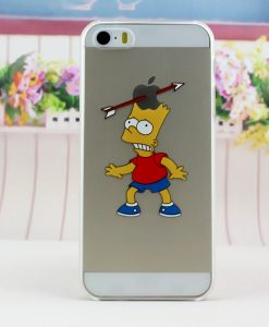 carcasa celular iphone 5s bart simpsons