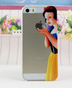 carcasa celular iphone 5s blanca nieves