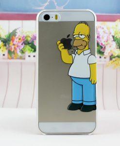 carcasa celular iphone 5s homero simpsons
