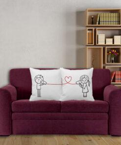 Cojín Decorativo Parejas Love Call