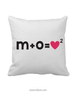 personaliza tu cojín decorativo formula amor