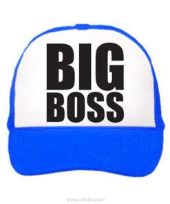 gorra azul big boss
