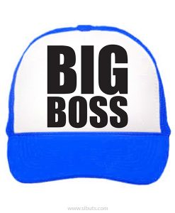 gorra azul big boss