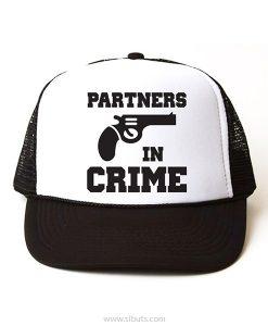 gorra parejas partners in crime
