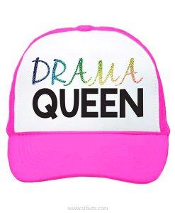 gorra rosa drama queen