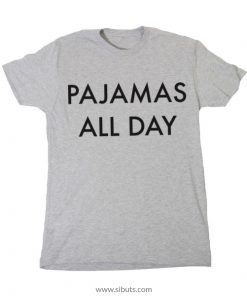playera gris mujer pajamas all day
