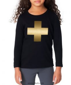 playera niña golden cross