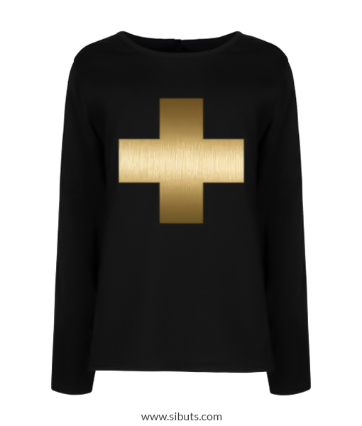 playera niña golden cross