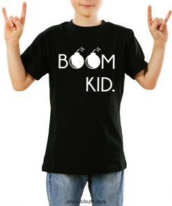 playera niño boom kid