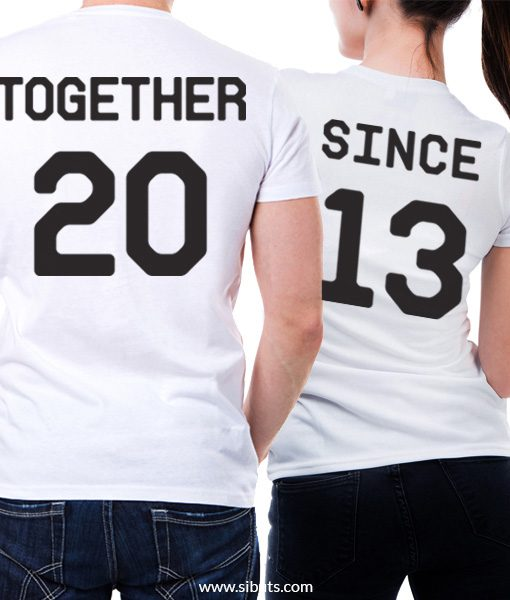 playera parejas together since