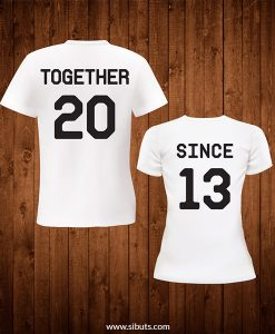 playera parejas together since