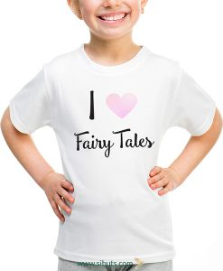 playera niña i love fairytales