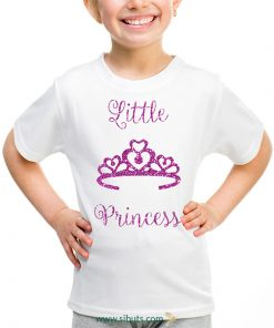 playera niña little princess