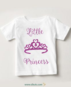 playera niña little princess
