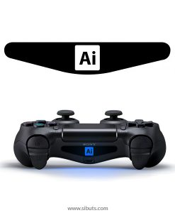sticker barlights control ps4 illustrator