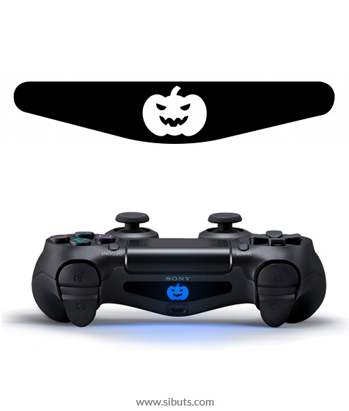 sticker barlights control ps4 calabaza