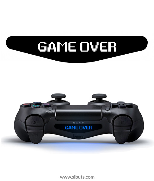 sticker barlights control ps4 game over