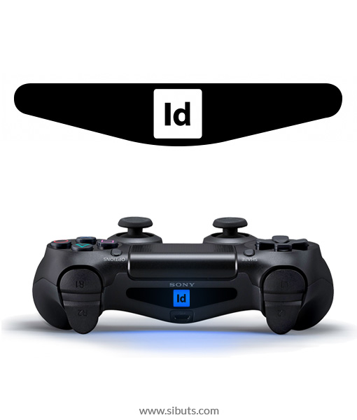 sticker barlights control ps4 in design