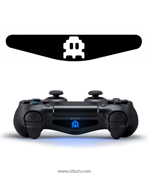 sticker barlights control ps4 space invaders