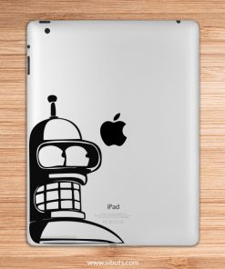 sticker para ipad bender futurama