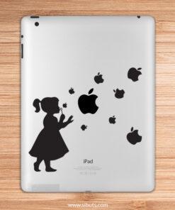 sticker para ipad niña burbujas