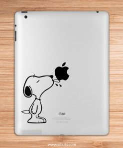 sticker para ipad snoopy lengua