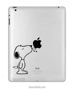 sticker para ipad snoopy lenguasticker para ipad snoopy lengua