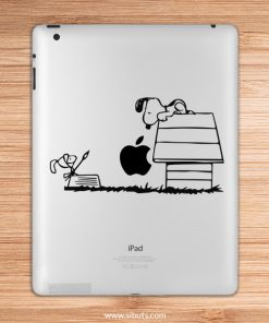 sticker para ipad snoopy quijote