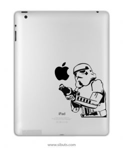 sticker para ipad stormtrooper