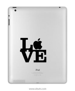 sticker para ipad LOVE