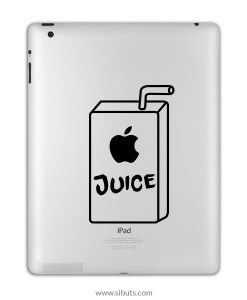 sticker para ipad juice