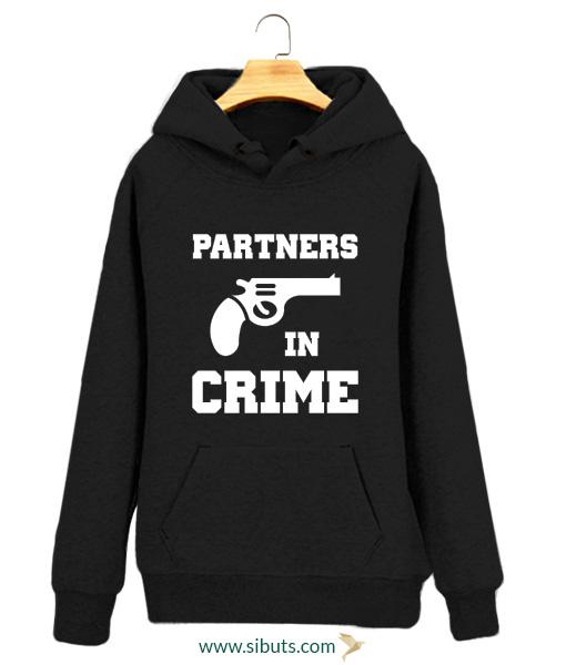 Sudaderas para parejas partners in crime