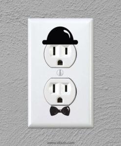vinil decorativo para apagador de gentleman