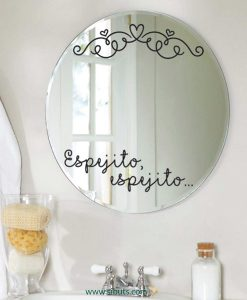 vinil decorativo espejito espejito