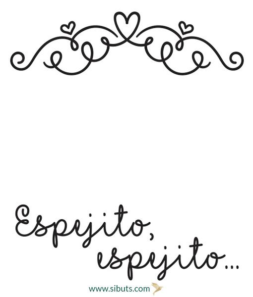 Vinilo decorativo espejito espejito sibuts for Espejito espejito