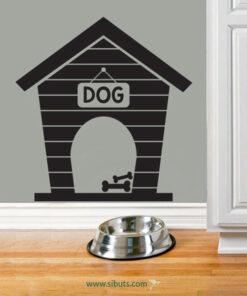 Vinil Decorativo Casa de Perro