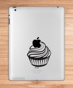 sticker para ipad Cup cake