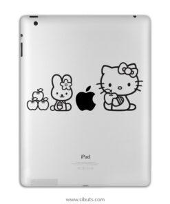 sticker para ipad kitty amigos