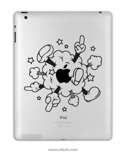 sticker para ipad mickey cloud