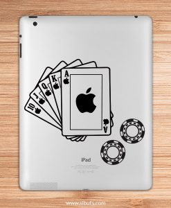 sticker para ipad poker