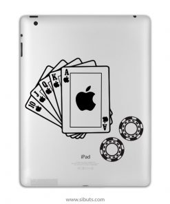 sticker para ipad poker