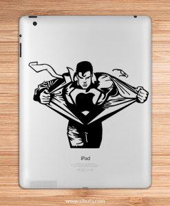 sticker para ipad superman