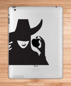 sticker para ipad wicked