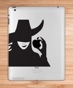 sticker para ipad wicked