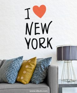 Vinil Decorativo I Love New York