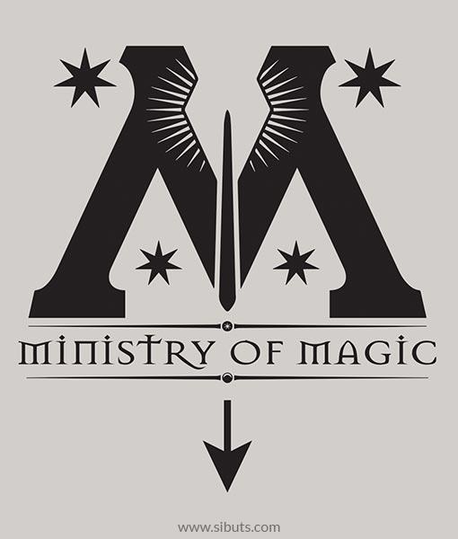 Vinilo decorativo escusado ministry of magic