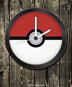 Reloj pared Pokemon - Pokebola