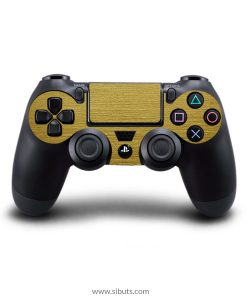Skin para Ps4 consola y controles oro opaco brushed